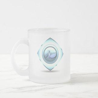 Boating Design Frosted Mug