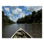 Boating down the Amazon Posters