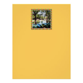 boating down the river letterhead