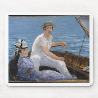 Boating - Édouard Manet Mouse Pad