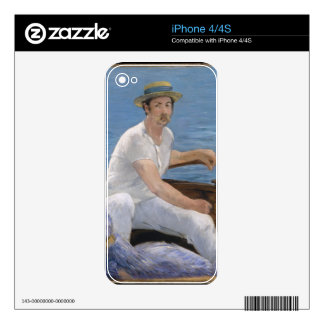 Boating - Édouard Manet Skins For iPhone 4