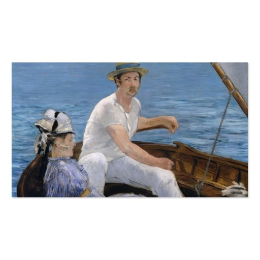 Boating - Édouard Manet Business Card Templates