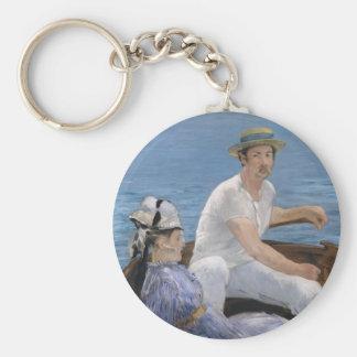 Boating - Edouard Manet Keychain