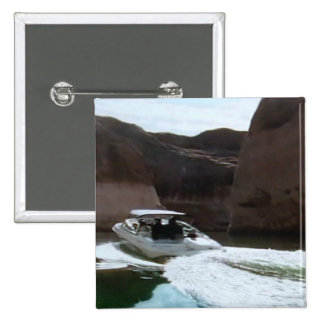 Boating fun in the Colorado River, on a button