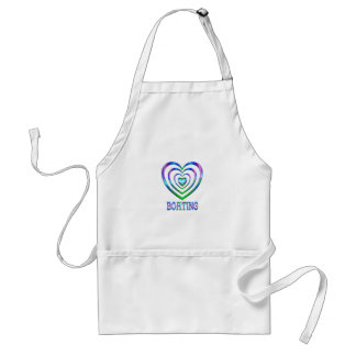 Boating Hearts Adult Apron