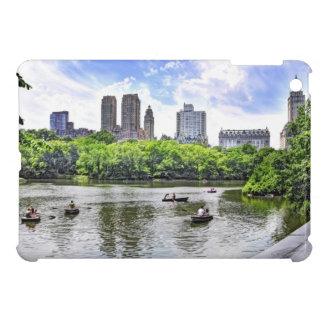 Boating in Central Park iPad Mini Cover