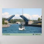 Boating in Charlevoix - Charlevoix, MI Print