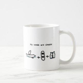 Boating is all I need Coffee Mug