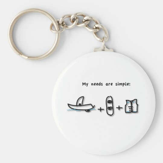 Boating is all I need Keychain