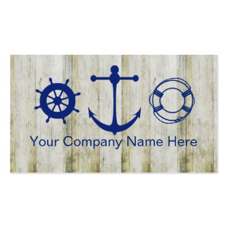 Boating Marine Business Cards