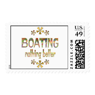 BOATING Nothing Better Stamp