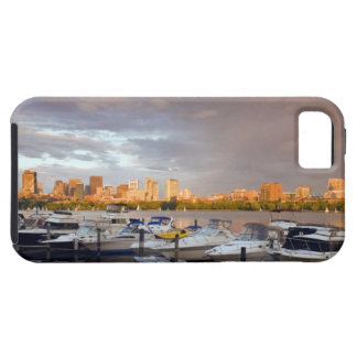 Boating on The Charles River at dusk iPhone 5 Cases