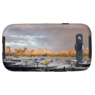 Boating on The Charles River at dusk Samsung Galaxy S3 Cases