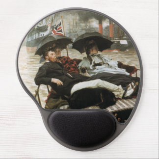 Boating on the Harbor Gel Mouse Pad