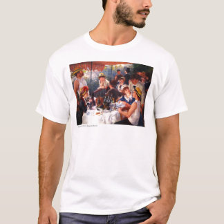 Boating Party by Pierre Auguste Renoir T-Shirt
