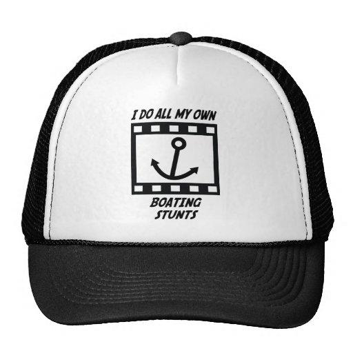 Boating Stunts Mesh Hats