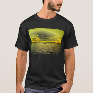 Boating thru Buttery Skies T-Shirt