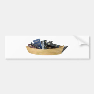 BoatPassportBriefcases061315.png Bumper Sticker