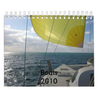 Boats 2010 Calendar