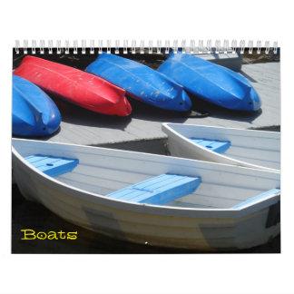 Boats 2018 calendar
