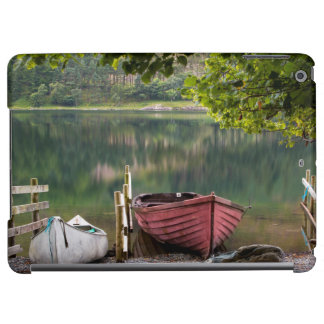 Boats along the shore of Buttermere Lake iPad Air Cases