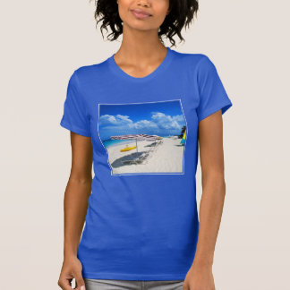 Boats And Beach Chairs T Shirt