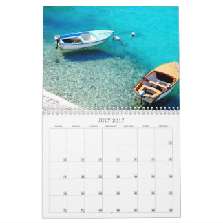 Boats and Beaches Calendar