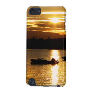 Boats and Fiery Sky iPod Touch 5G Case