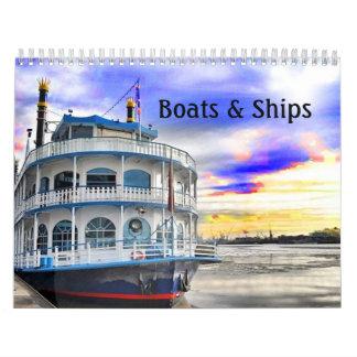 Boats and Ships Calendar