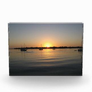 Boats and Sunrise Acrylic Decoration Award