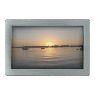 Boats and Sunrise Belt Buckle