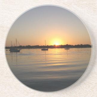 Boats and Sunrise Coaster