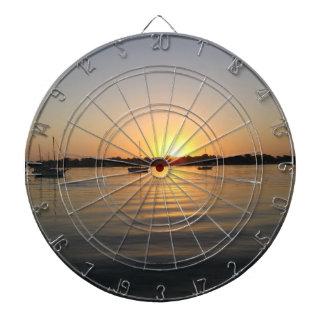 Boats and Sunrise Dartboards