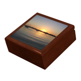 Boats and Sunrise giftbox Gift Box