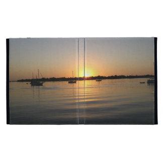 Boats and Sunrise iPad Cases