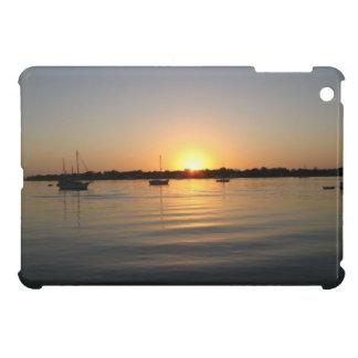 Boats and Sunrise iPad Mini Cover