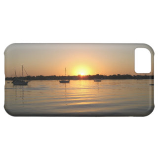 Boats and Sunrise iphone 5 case