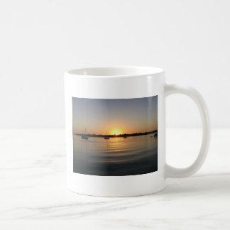 Boats and Sunrise Mug