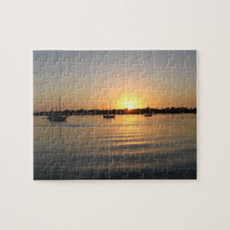 Boats and Sunrise Puzzle