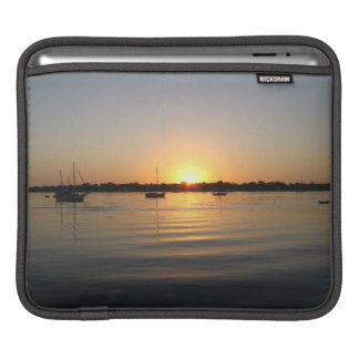 Boats and Sunrise Sleeve For iPads