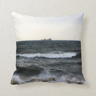 Boats and Surge in the Atlantic Ocean from the coa