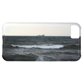 Boats and Surge in the Atlantic Ocean from the coa Case For iPhone 5C