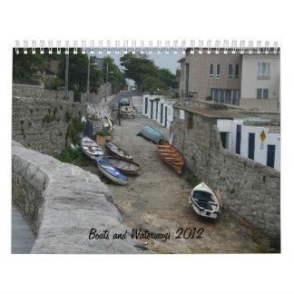 Boats and Waterways Around the World  Calendar