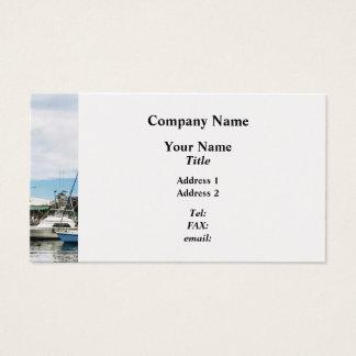 Boats at Bridgetown Barbados Business Card