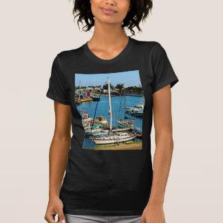 Boats at King's Wharf, Bermuda T-Shirt