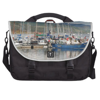 Boats at Kyleakin, Isle of Skye, Scotland Bag For Laptop