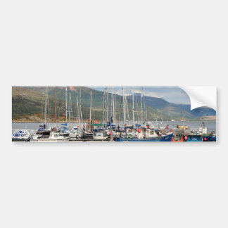 Boats at Kyleakin, Isle of Skye, Scotland Bumper Sticker