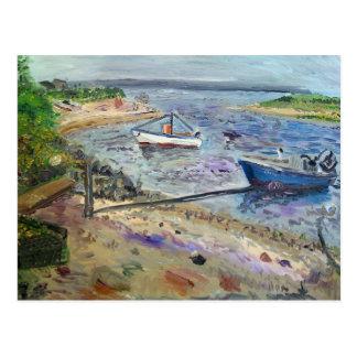 boats at napeaque, The Hamptons Postcard