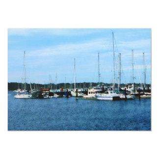 Boats at Newport RI Card
