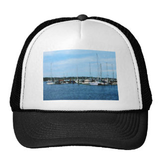 Boats at Newport RI Trucker Hat